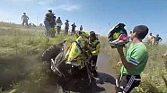 Fans help Dakar Competitor get back on track