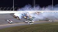 NASCAR Truck Daytona 2015 12 Truck Pile Up