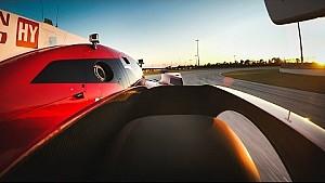 A bordo del Nissan  LMP1 GT-R LM 2015