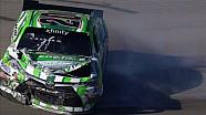 Erik Jones Wrecks Hard - Las Vegas - 2015 NASCAR XFINITY Series