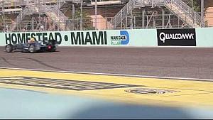 Alejandro Agag pone a prueba el coche de Fórmula E