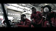 Les pilotes Citroën découvrent la Nordschleife