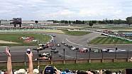 Carambolage au départ du Grand Prix d'Indianapolis