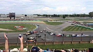 2015 Indycar Grand Prix of Indianapolis first lap crash