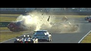 2014 Daytona Rolex 24 Matteo Malucelli and Memo Gidley Huge Crash