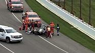 Gros accident pour Josef Newgarden à Indianapolis