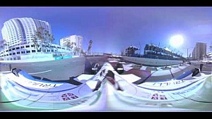 ePrix di Long Beach: il botto di Jarno Trulli