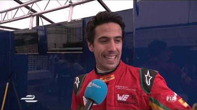 DHL Berlin ePrix - Lucas di Grassi post-race interview