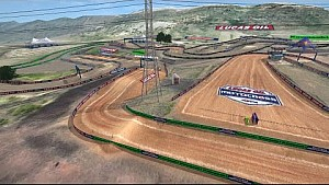 2015 Thunder Valley Motocross Animated Track Map