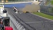 Massive GT4 European Series crash at Red Bull Ring