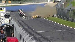 Un accident impressionnant en GT4 European Series