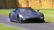 L'Aston Martin Vulcan fait ses débuts à Goodwood