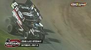 Highlights: Sprint Cars Cedar Lake Speedway July 11th, 2015