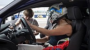 Ford Fiesta ST e Vicky Piria nel Game4Test