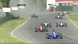 Massive crash for Bacci & Cunill Formula Abarth 2010 Imola