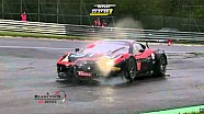 24H of Spa | Ferrari 458 #90 Duqueine Big Crash