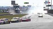 Accidente masivo en la carrera de Stock Car Brasil Curitiba