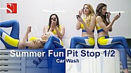 #SummerFun F1 Parada en pits: Auto lavado - Sauber F1 Team