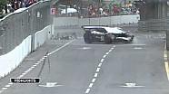 Fairuz Fauzy choca en un Lamborghni Super Trofeo en KL GP