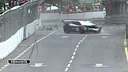 Fairuz Fauzy massive crash in a Lamborghni Super Trofeo at KL GP