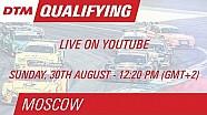بث مباشر لوقائع التجارب التأهيلية لسباق موسكو الثاني للدي تي أم