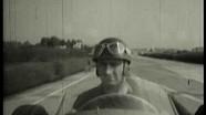 Fangio pilote la Maserati 250F à Modena en 1957