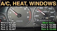 Windows Down, Up, Heat, or A/C? Best Gas Mileage