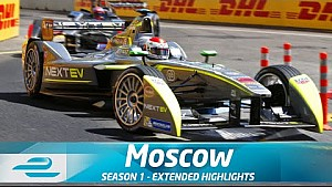 Moscow ePrix Full Extended Highlights (Season 1 - Round 9)