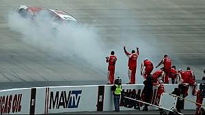 ALL ACCESS: 'Burn'em, ' Harvick celebra en Dover