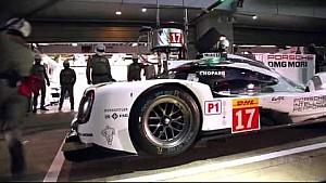 Mark Webber se explica lo que es una parada en boxes perfecta.