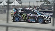 43 Seconds With Ken Block - Red Bull Global Rallycross Round 1