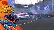 ePrix de Pékin - Accrochage entre Da Costa et Villeneuve