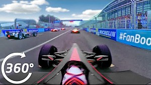 360° video: Start Formule E Beijing ePrix