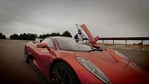 Audiciones de Massa para ser el villano en James Bond y conduce el Jaguar C - X 75