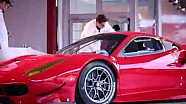 Ferrari 488 GTE, svelata la livrea in time laps | Finali Mondiali Ferrari 2015