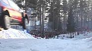 Ралли Швеция 2015. Рекордный прыжок Тьери Невилля (44 метра)