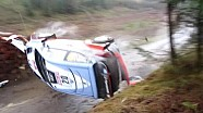 WRC Wales: Neuville mit Überschlag