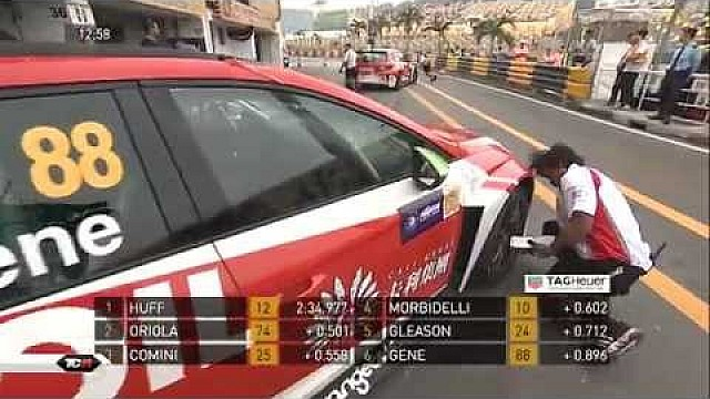 TCR Macau: Qualifying