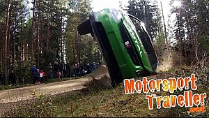 Throwback crash from Pirelli ralli 2014