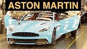 جولة في معمل أستون مارتن - كيف تصنع السيارات الخارقة