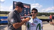 2015 Cold Stone United States Rotax MAX Challenge Grand Nationals - Anthony Gangi Jr. Interview