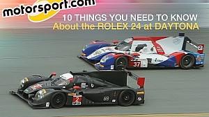 Fast facts: Rolex 24 at Daytona