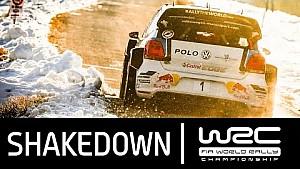Rallye Monte-Carlo 2016 - Shakedown