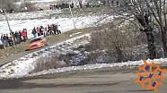 Lorenzo Bertelli crashes on day 2 of Rally Monte Carlo