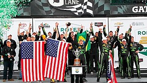 Tequila Patrón ESM wins the Rolex 24 at Daytona!