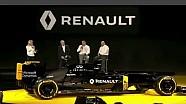 Презентация автомобиля и гонщиков Renault F1