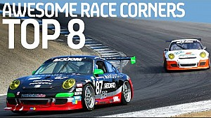 Top 8 IMPRESIONANTES esquinas en Motorsport -Fórmula E