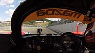 A bordo del Mazda 767B en Spa Francorchamps
