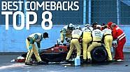 Top 8 Mejores Remontadas - Formula E