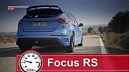 New Ford Focus RS acceleration  (0-200 km/h)